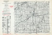 Branch County, Michigan State Atlas 1955