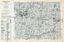 Calhoun County, Michigan State Atlas 1955