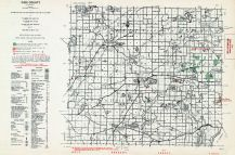 Cass County, Michigan State Atlas 1955