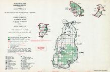 Charlevoix County, Big Beaver Island, Michigan State Atlas 1955