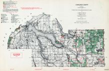 Charlevoix County, Michigan State Atlas 1955