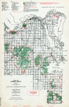 Chippewa County - Central Part, Michigan State Atlas 1955