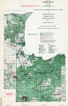 Chippewa County - West Part, Michigan State Atlas 1955