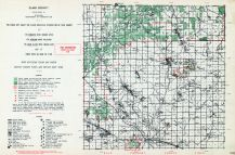 Clare County, Michigan State Atlas 1955