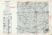 Clinton County, Michigan State Atlas 1955