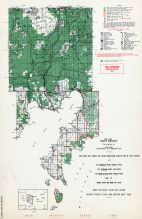 Delta County - East, Michigan State Atlas 1955