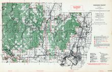 Dickinson County, Michigan State Atlas 1955
