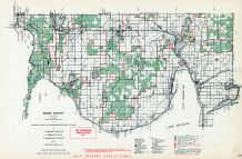 Emmet County, Michigan State Atlas 1955