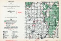 Gladwin County, Michigan State Atlas 1955