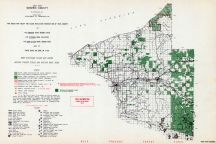 Gogebic County - West, Michigan State Atlas 1955