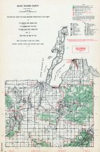 Grand Traverse County, Michigan State Atlas 1955