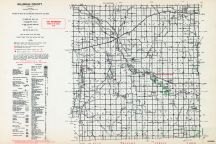 Hillsdale County, Michigan State Atlas 1955