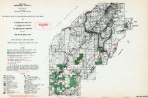 Houghton County - North, Michigan State Atlas 1955
