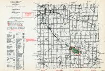 Ingham County, Michigan State Atlas 1955
