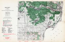Iosco County, Michigan State Atlas 1955