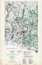 Iron County - East, Michigan State Atlas 1955