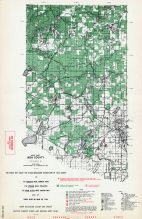 Iron County - West, Michigan State Atlas 1955