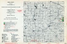Isabella County, Michigan State Atlas 1955