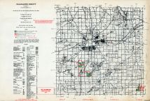 Kalamazoo County, Austin Lake, Michigan State Atlas 1955