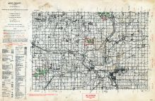 Kent County, Michigan State Atlas 1955