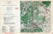 Lake County, Michigan State Atlas 1955
