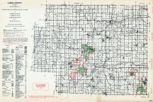 Lapeer County, Michigan State Atlas 1955