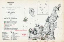 Leelanau County, Michigan State Atlas 1955