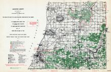 Manistee County, Michigan State Atlas 1955