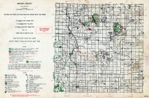 Mecosta County, Michigan State Atlas 1955