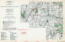 Menominee County - North, Michigan State Atlas 1955