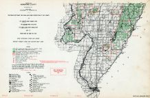 Menominee County - South, Michigan State Atlas 1955