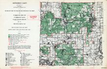 Montmorency County, Michigan State Atlas 1955