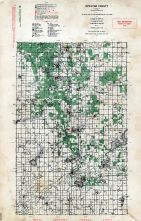 Newaygo County, Michigan State Atlas 1955