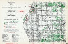 Oceana County, Michigan State Atlas 1955