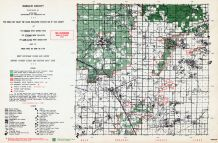 Ogemaw County, Michigan State Atlas 1955