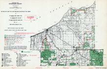 Ontonagon County - Northeast, Michigan State Atlas 1955