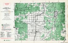 Ontonagon County - Southeast, Michigan State Atlas 1955
