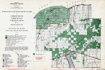 Ontonagon County - West, Michigan State Atlas 1955