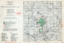 Osceola County, Michigan State Atlas 1955