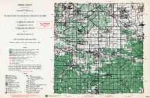 Oscoda County, Michigan State Atlas 1955