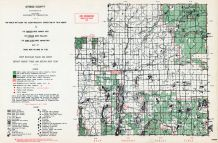 Otsego County, Michigan State Atlas 1955