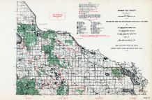 Persque Isle County, Michigan State Atlas 1955