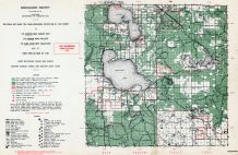 Roscommon County, Michigan State Atlas 1955