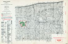 Sanilac County, Michigan State Atlas 1955