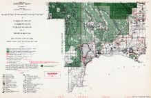 Schoolcraft County - North, Michigan State Atlas 1955