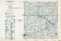 Shiawassee County, Michigan State Atlas 1955