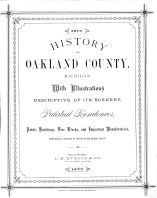 Oakland County 1877