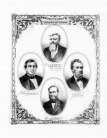 A.D. Crane, N.C. Goodale, J.W. Wing, Dr. N.S. Hallock, Washtenaw County 1874