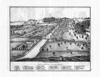 Bird's Eye View of Delhi Mills, Washtenaw County 1874