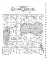 Shell Lake Township, Plumb P.O., Brager P.O., Becker County 1911